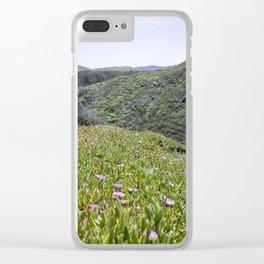 Montaña de Oro Hillside Clear iPhone Case