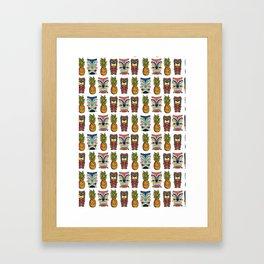 Tiki Town Framed Art Print