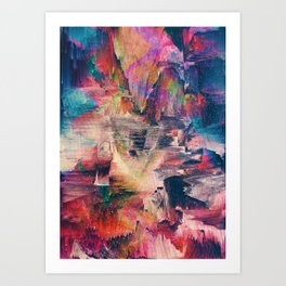 Glitch like that Art Print