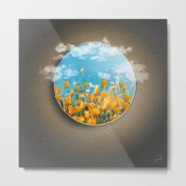 Portal Flores Metal Print