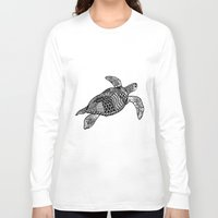turtle Long Sleeve T-shirts featuring Turtle by Sophie H.