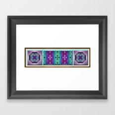 Meditative Garden Framed Art Print