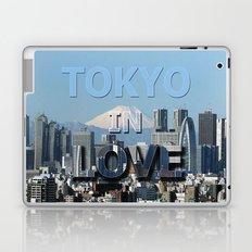 tokyo in love Laptop & iPad Skin