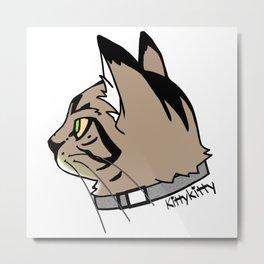 KittyKitty Metal Print