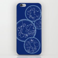 Doctor Who Gallifreyan - We're All Stories quotes iPhone Skin