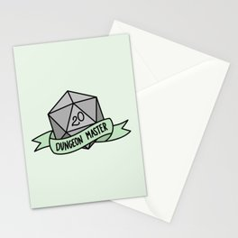 Dungeon Master D20 Stationery Cards