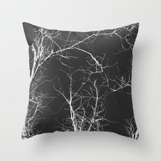 Branches and Sky Throw Pillow
