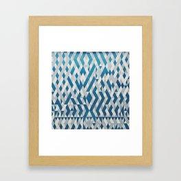 Tile Pattern Framed Art Print