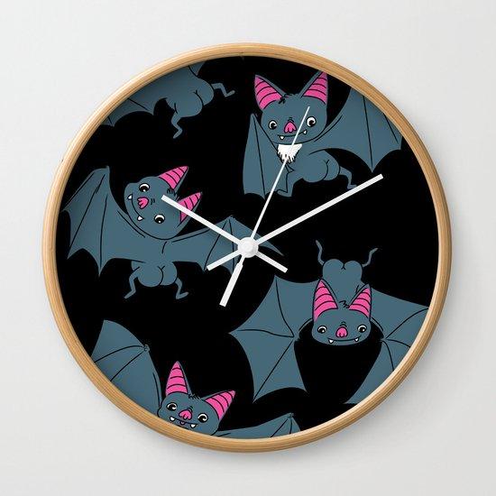 Bat Butts!!! Wall Clock