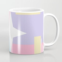 Pastel Star Pattern Coffee Mug