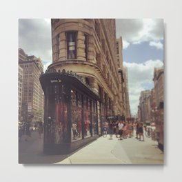 Flatiron Building New York Metal Print