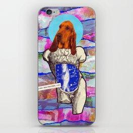 Divine dogs -- Bloodhound iPhone Skin