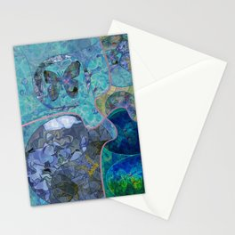 Blue - Green Collage July 2020 Stationery Cards