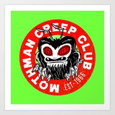 Mothman Creep Club Art Print