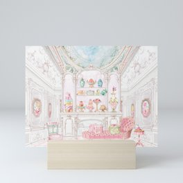 French Patisserie  Mini Art Print
