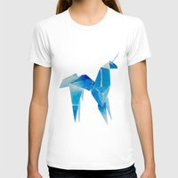 blade runner T-shirts featuring Blade Runner| Unicorn by Eazy Verdeacqua