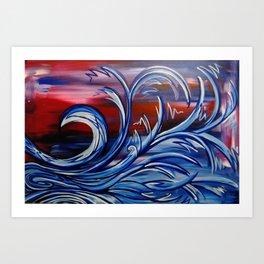 Storm Cloud Woman Tree (rotate) Art Print