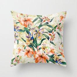 RPE Seamless Floral III Throw Pillow