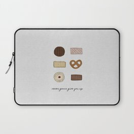 Never Gonna Give You Up Laptop Sleeve