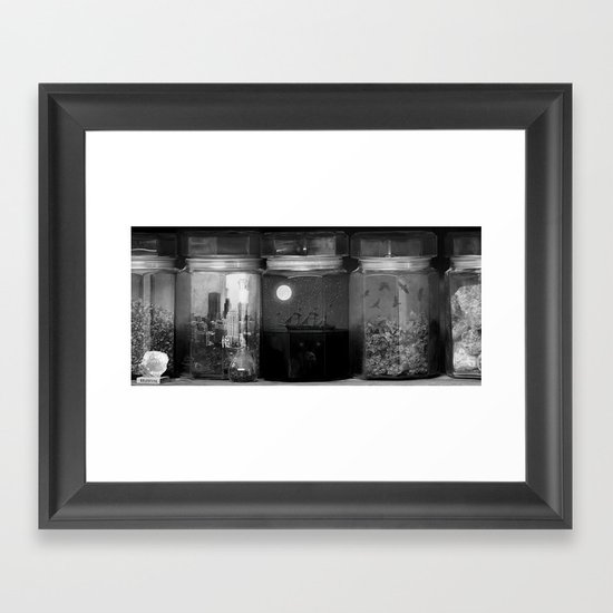 Little Worlds (Crop) Framed Art Print
