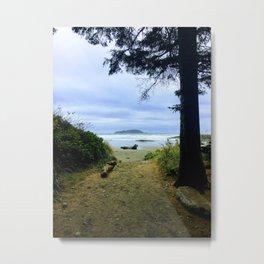 Tofino Beach Entrance Metal Print