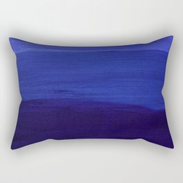 Blue Mellow Rectangular Pillow