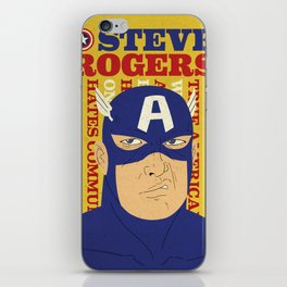 Steve Rogers/Captain America iPhone Skin