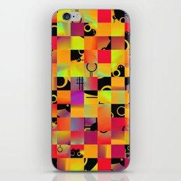 No Alphabet Symbol In Tiles iPhone Skin