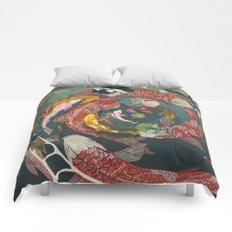 Ukiyo-e tale: The creative circle Comforters