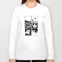 death Long Sleeve T-shirts featuring Death by Lee Grace Illustration