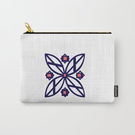 Abby Flower Carry-All Pouch