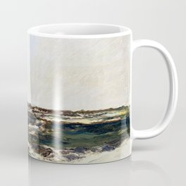 Charles-François Daubigny The Dunes at Camiers Coffee Mug