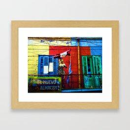 The Warehouse, La Boca, Buenos Aires Framed Art Print