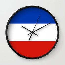 Flag of schleswig-Holstein Wall Clock