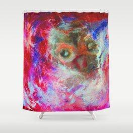 Abstract Owl   #society6 #decor #buyart Shower Curtain
