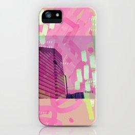 Peach Tower iPhone Case