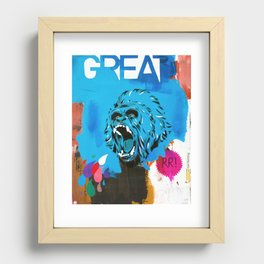 Great Recessed Framed Print