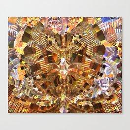 Broken Shapes Canvas Print