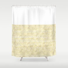 Riverside Gold Shower Curtain