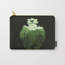 Hunting Season - Green Carry-All Pouch