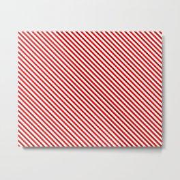 Happy striped pattern Metal Print