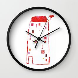 Rains inside... Wall Clock