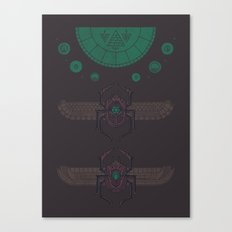 Scarabs Canvas Print