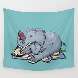 The Best Thing About Rainy Days Wall Tapestry