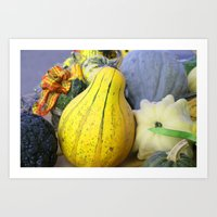 pumpkin Art Prints featuring Pumpkin by LoRo  Art & Pictures