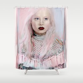 Pastel Beauty Shower Curtain