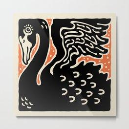 Black Swan 125 Metal Print