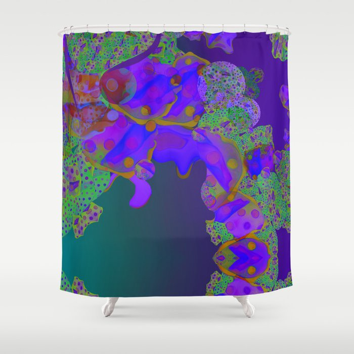 """""""Be yourself (Pop Fantasy Colorful Pattern 02)"""" Shower Curtain"""