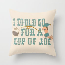 Cup o' Joe Throw Pillow