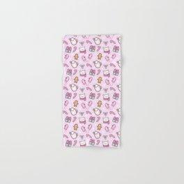 Cute Christmas // Pink Hand & Bath Towel